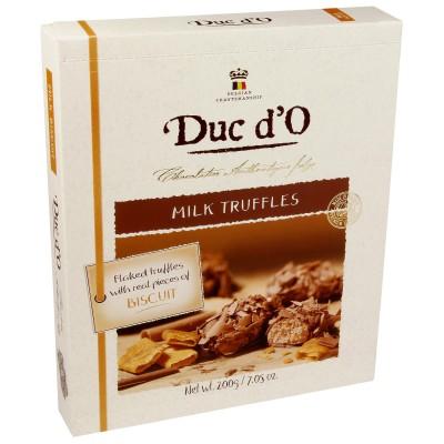 Duc d'O Borkentrüffel  Vollmilch Crunchy Biscuit