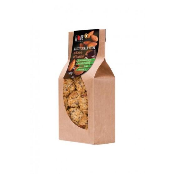 Haferflocken Kekse Mandel und Schoko