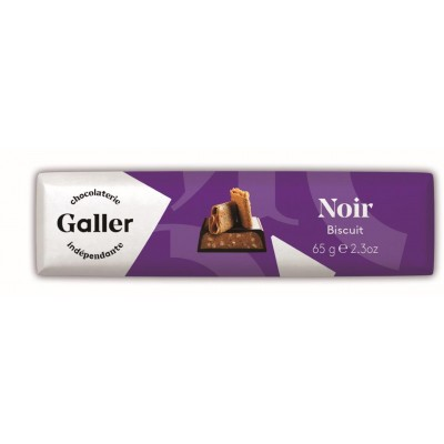Galler Bar Biscuit Noir