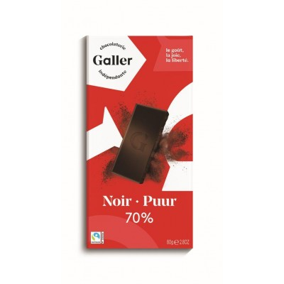 Galler Tablet Noir Intense 70%