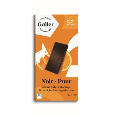 Galler Tablet Noir Intense 70% Orange