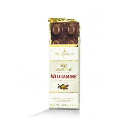 Schokoladentafel Morand Birnenbrand